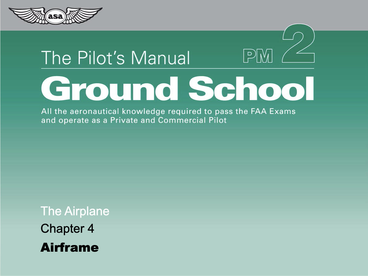 Course Image The Airplane