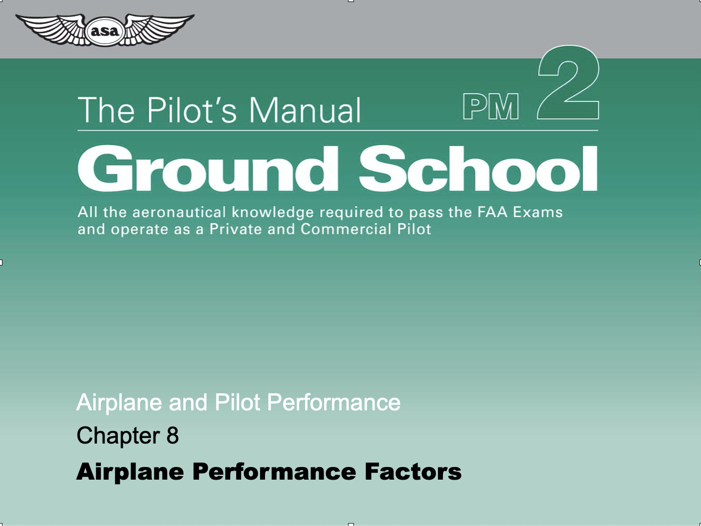 Course Image Airplane and Pilot Performance